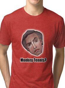 Monkey Tennis? - Alan Partridge Tee Tri-blend T-Shirt