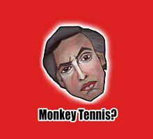 Monkey Tennis? - Alan Partridge Tee T-Shirt