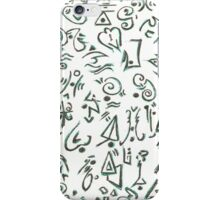 The Language of Enoch iPhone Case/Skin