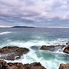 Hope Beach, South Arm, Tasmania by James Nielsen