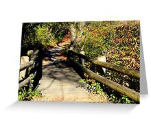 Walk with nature © Greeting Card