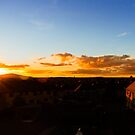 Sunset over the Lothians by AmandaJanePhoto