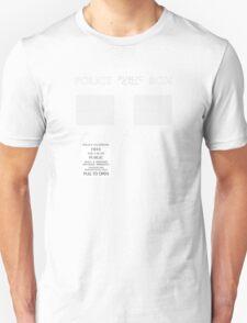 TARDIS costume shirt T-Shirt