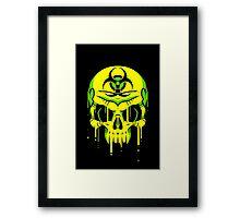 Toxic Melt Framed Print