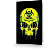 Toxic Melt Greeting Card