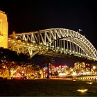 HDR shot of the Sydney Harbour Bridge by renekisselbach