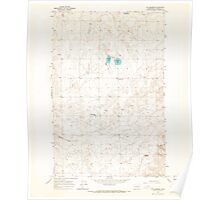 USGS Topo Map Washington State WA St Andrews 243985 1965 24000 Poster