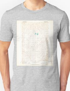 USGS Topo Map Washington State WA St Andrews 243985 1965 24000 Unisex T-Shirt