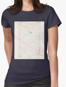 USGS Topo Map Washington State WA St Andrews 243985 1965 24000 Womens Fitted T-Shirt