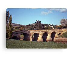 Spring, Richmond Bridge—Kodachrome 64 Canvas Print