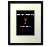 To Go Alone Framed Print