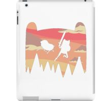 Adventure Time water colour iPad Case/Skin