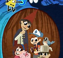 Over to Gravity Falls by Steff Egan