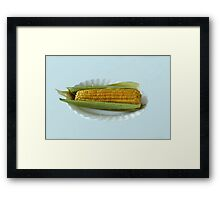 ear of corn Framed Print