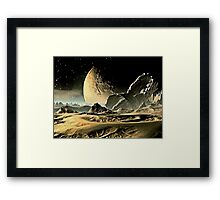 The End of Iapetos Framed Print