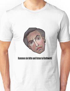 Kommen sie bitte und listen to Kraftwerk! - Alan Partridge Tee Unisex T-Shirt