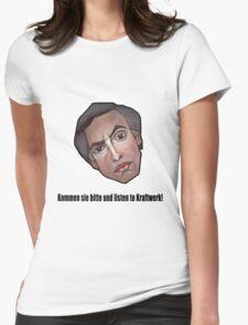 Kommen sie bitte und listen to Kraftwerk! - Alan Partridge Tee Womens Fitted T-Shirt