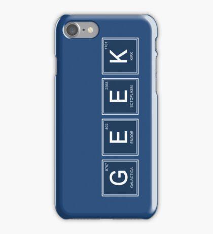Geek elements iPhone Case/Skin