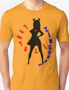 ۞»♥TantalizinGrrr Devilish Girl Clothing & Stickers♥«۞ Unisex T-Shirt