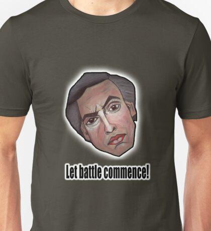 Let battle commence! - Alan Partridge Tee Unisex T-Shirt