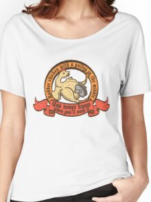 Rubber chicken with a pulley in the middle Women's Relaxed Fit T-Shirt
