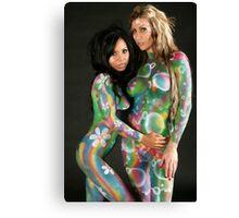 Painted Ladies 1 Canvas Print