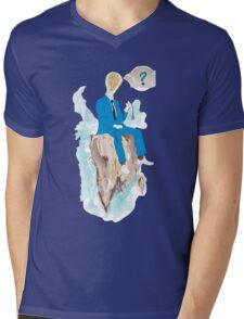 Pensatore illuminato Mens V-Neck T-Shirt