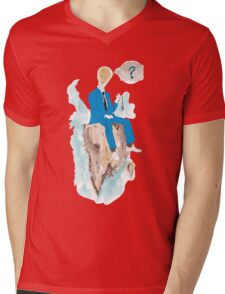 Pensatore illuminato Mens V-Neck T-Shirt