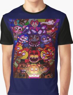 Five Nights at Freddys Graphic T-Shirt