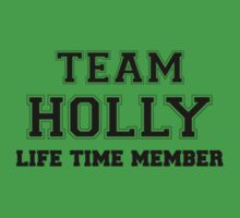Team HOLLY, life time member Kids Clothes
