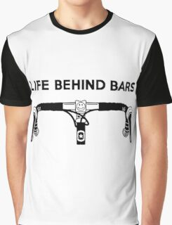 Life Behind Bars Bicycle Graphic T-Shirt