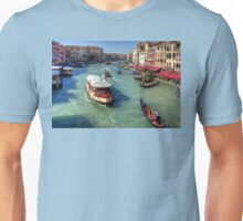 Traffic on the Grand Canal Unisex T-Shirt