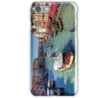Traffic on the Grand Canal iPhone Case/Skin