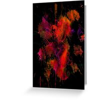 """Fire Works""  by Carter L. Shepard Greeting Card"