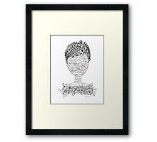 PowerSelfie Framed Print