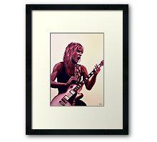 Randy Rhoads painting Framed Print