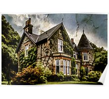 Scottish Cottage Poster