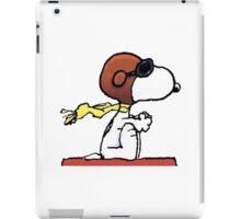 flying snoopy dom iPad Case/Skin