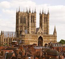 Lincoln Cathedral by John Morris