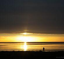 enjoying the sunset by JorunnSjofn Gudlaugsdottir