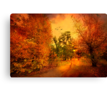 Colours of Atumn Canvas Print