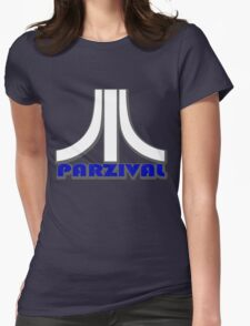 Ready Player One? Parzival Atari Logo Womens Fitted T-Shirt