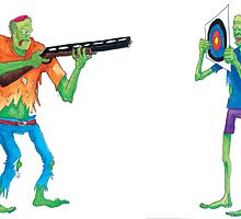 Zombie Shooting Practice by Daniel Werneck
