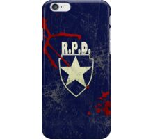 R.P.D. iPhone Case/Skin