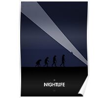 99 Steps of Progress - Nightlife Poster