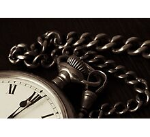 Pocket Watch Photographic Print