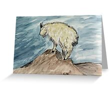 """""""King Of The Mountain""""  by Carter L. Shepard Greeting Card"""
