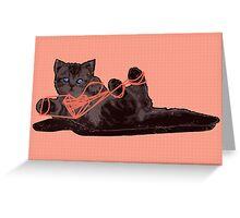 Cat's Cradle Greeting Card