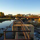 Upper Edge of the Sioux Falls by Scott Hendricks