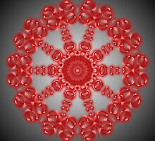Red Kaleidoscope 11 by fantasytripp